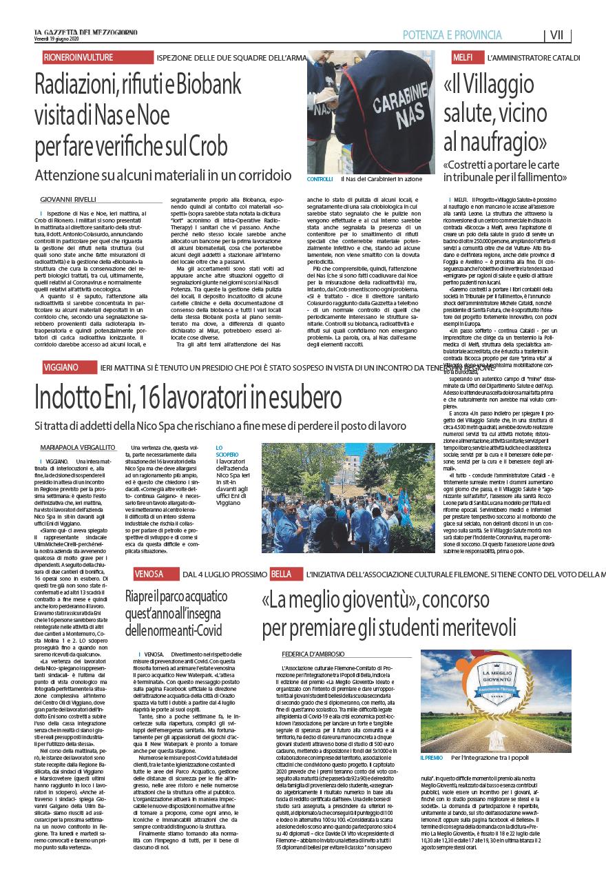 Melfi Villaggio Salute A Rischio Le Responsabilita Sanita Futura